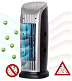 Sichler Haushaltsgeräte Luftionisierer: Luftreiniger mit Ionisator, UV-Licht, Staubfilter und Gebläse, 10 Watt (Luftreiniger Ionisierer)